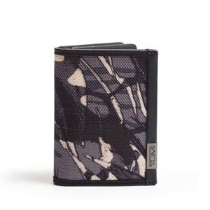 Tumi Gusseted Card Case Alpha Wallet Grey Highland